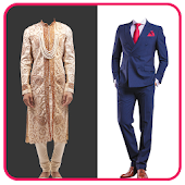 Men Wedding Photo Suit
