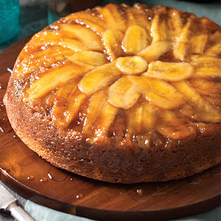 Bananas Foster Upside-Down Cake.