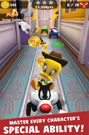 Screenshot for Looney Bunny Dash Rush in United States Play Store