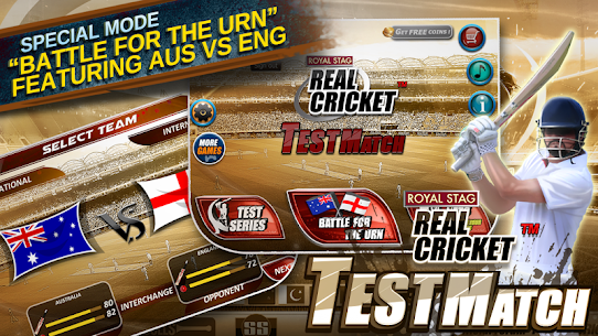 Real Cricket™ Test Match App Download For Android and iPhone 2