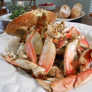 Oven Roast Crabs