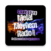 CSNX-9520 Metal Meyhem Radio