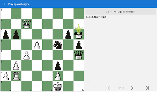 Mate Escape. Chess Puzzles- screenshot thumbnail