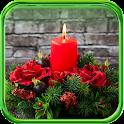 Candles Burning LWP icon