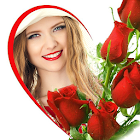Rose Photo Frames & Rose Day Picture Effects icon