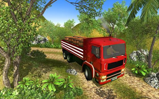 3D Truck Driving Simulator - Real Driving Games screenshot 4