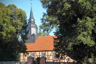 Photo: DorfkircheSchönhausen in Mecklenburg