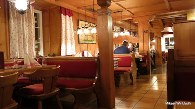 Photo: Lilla restaurangen på Hotell Gisela.