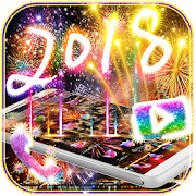 Happy New Year Fireworks Theme