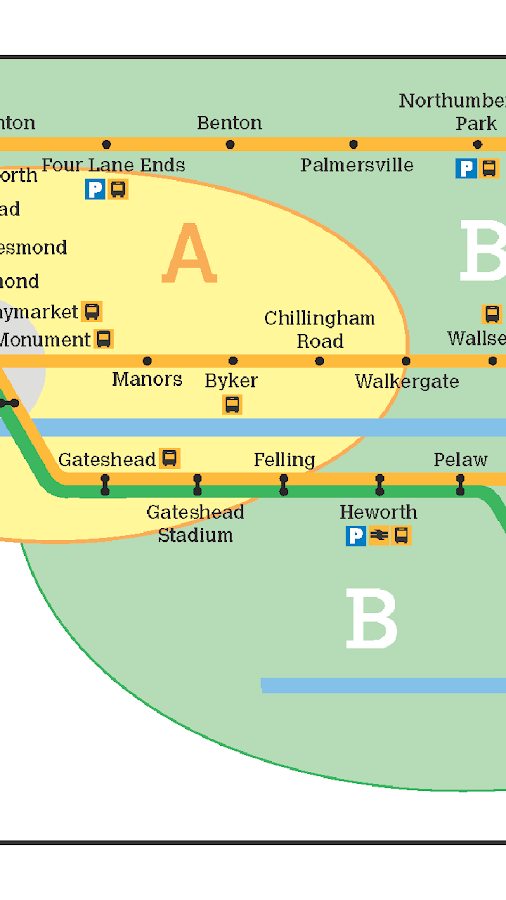 tyne and wear metro map android apps on google play. Black Bedroom Furniture Sets. Home Design Ideas