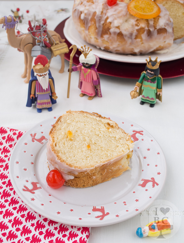 Roscón de Reyes Bundt Cake