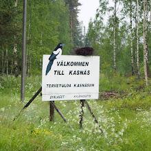 Photo: Veneettöminä lähdimme Öröhön Kasnäsistä