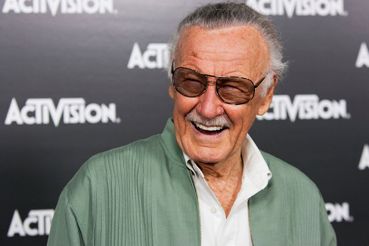 The late Stan Lee in Los Angeles, the US, June 14 2010. Picture: REUTERS/JASON REDMOND