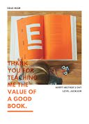The Value of a Good Book - Mother's Day item
