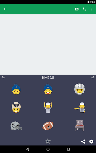 NFL Emojis Screenshot