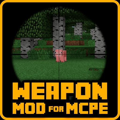 Weapon mod for mcpe DesnoGuns