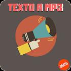 Texto a Mp3 icon