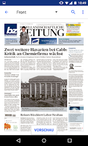 bz Baselland E-Paper screenshot 1