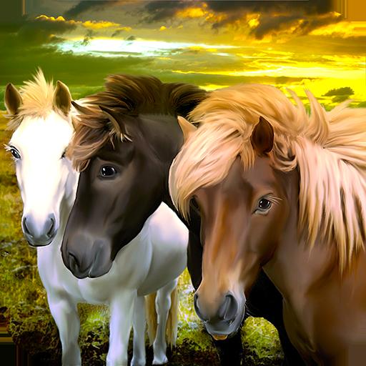Horse Family: Fantasy Survival - live a fairy tale
