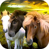 Horse Family: Fantasy Survival - live a fairy tale