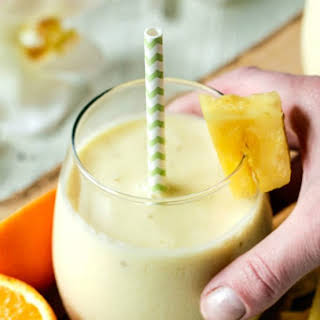 Skinny Tropical Pineapple Smoothie.