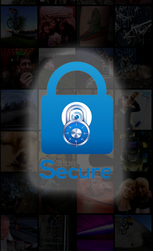 Share Photos Securely-SecureP