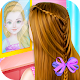 Little Princess Magical Braid updo Hairstyle Salon Apk