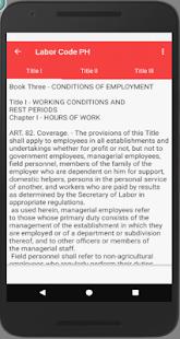 Labor Code PH - náhled