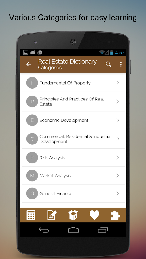 Real Estate SMART Dictionary- screenshot
