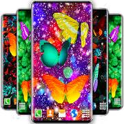 HD Neon Butterfly Live Wallpaper \ud83e\udd8b 4K Wallpapers