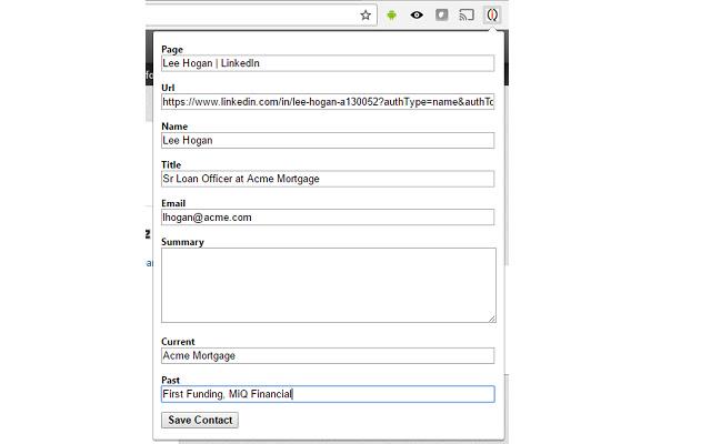 Mortgage iQ Contact Scraper