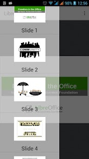 LibreOffice Viewer- screenshot thumbnail