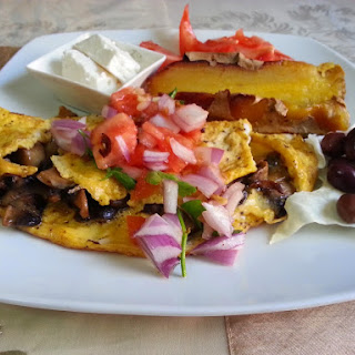 The 7000 - Mile Omelet with a Greek twist