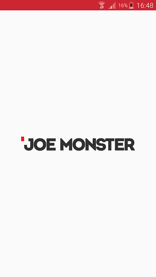Joe Monster – zrzut ekranu