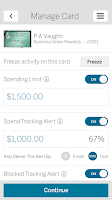 Screenshot of ReceiptMatch from Amex