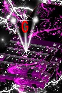 Color Keyboard Neon Pink - náhled