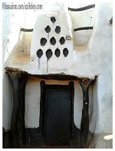 Photo: mosquée de Larabanga, Ghana