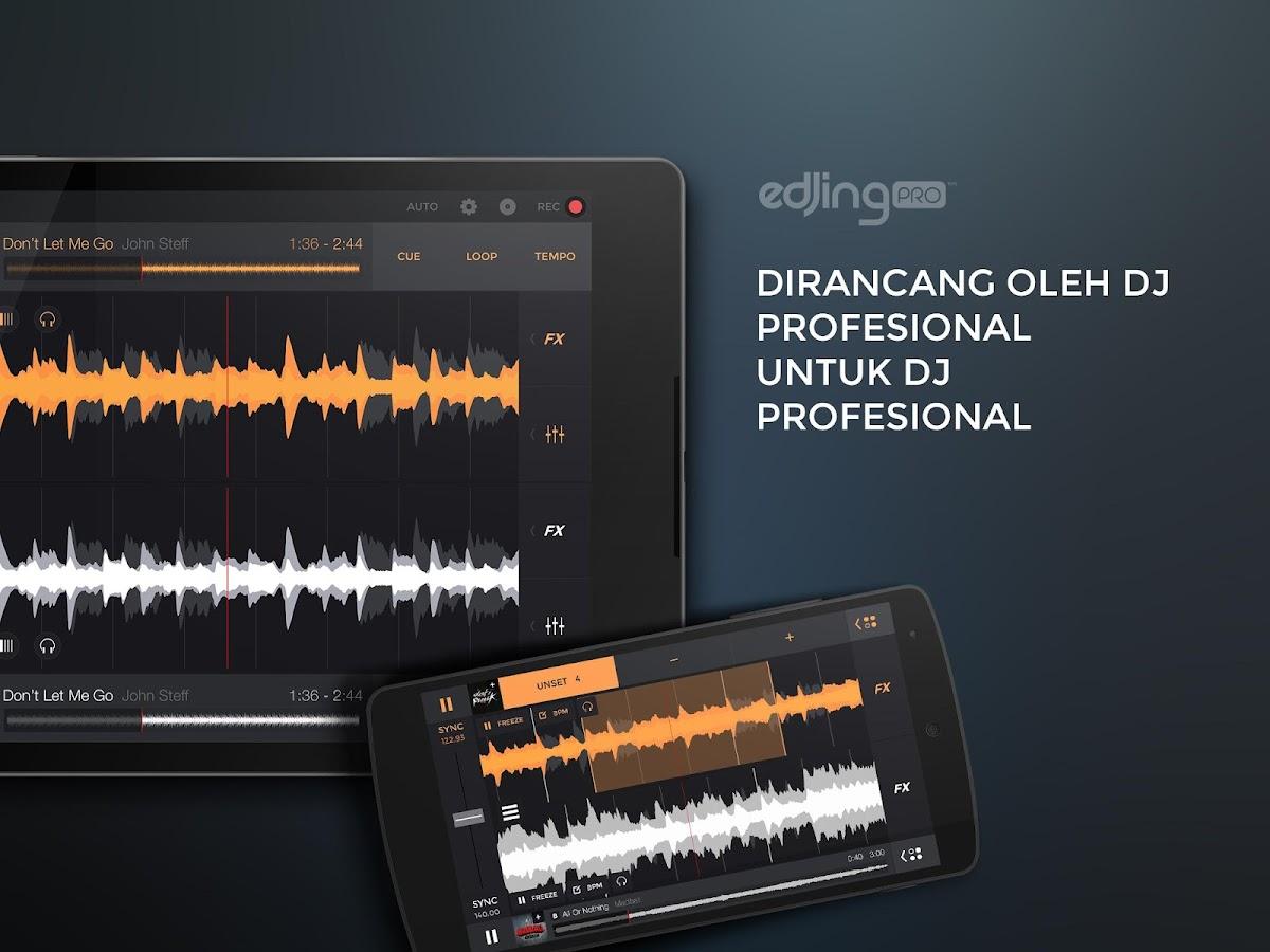 edjing PRO - Mixer DJ musik- tangkapan layar