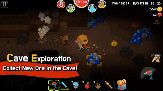 Mine Survival MOD Apk (Free Shopping) 6