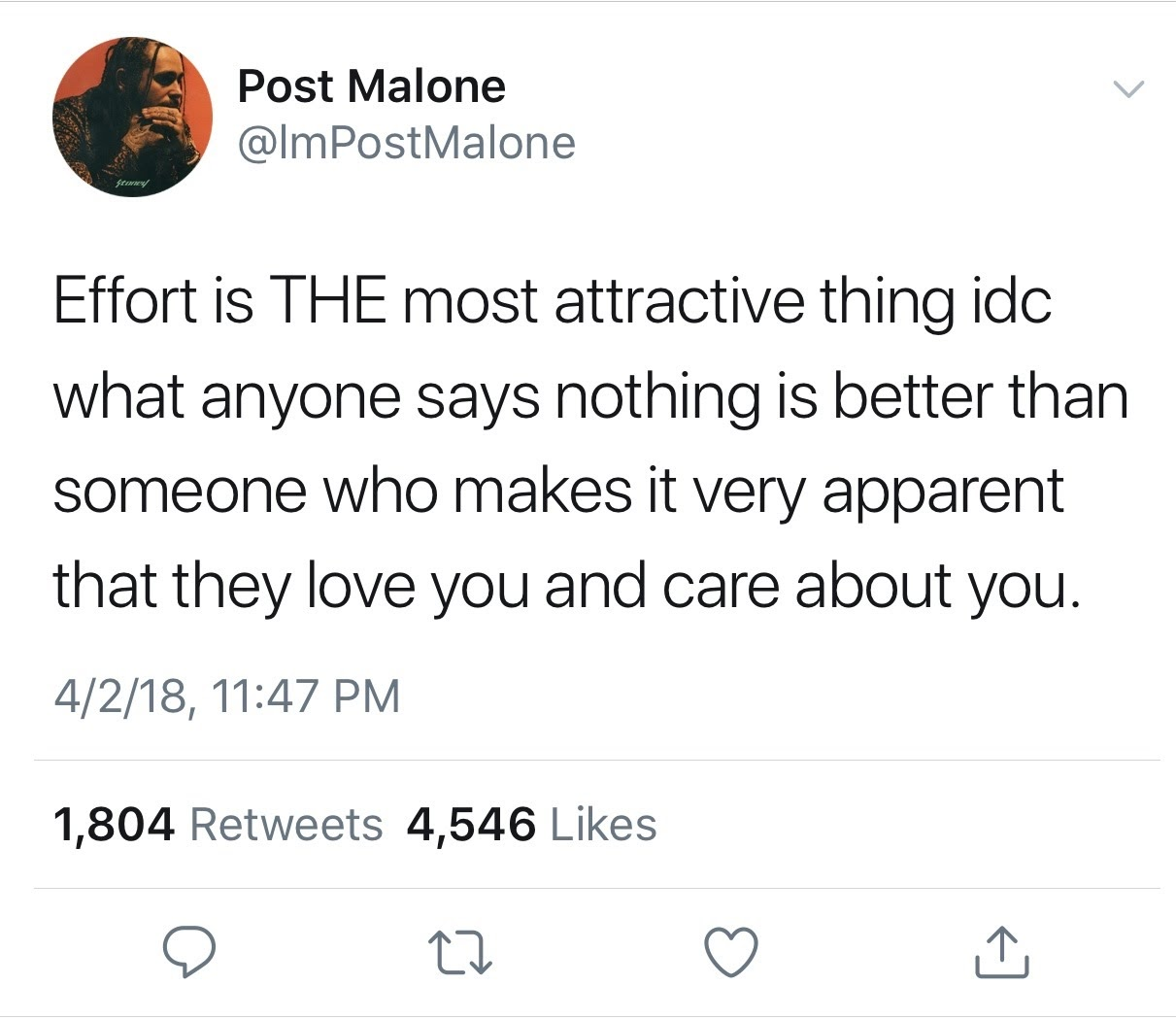 Post Malone's Realest Tweets | Her Campus