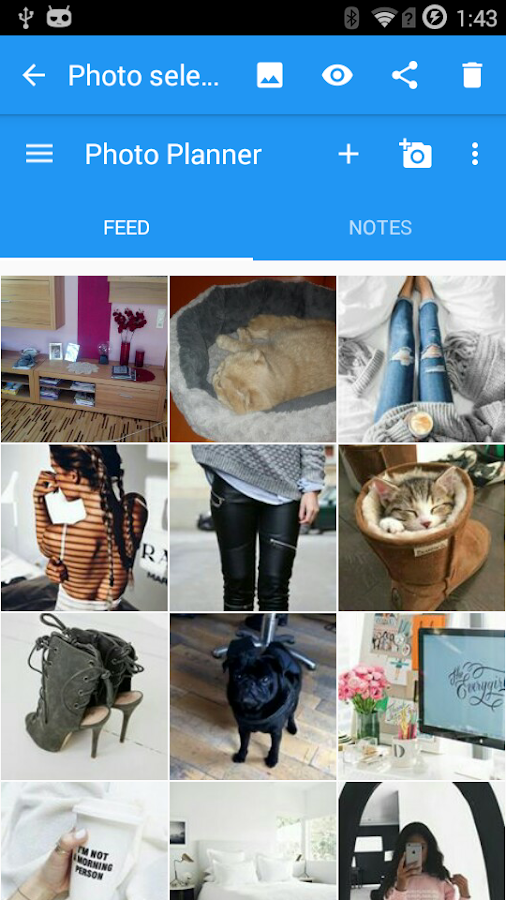 Feed Master para Instagram: captura de tela
