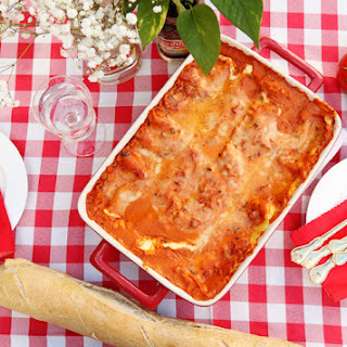 Bring Tuscany to the Table with this Luscious Rosa Lasagna Recipe! #BringHomeTuscany