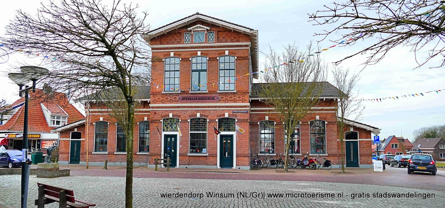 Aangeboden door: Stichting Microtoerisme InZicht Fotoblog Winsum bibliotheek openbare lagereschool Wind