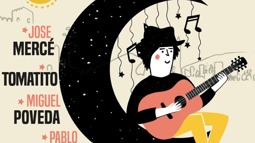 Detalle del cartel de la I Bienal Solidaria.