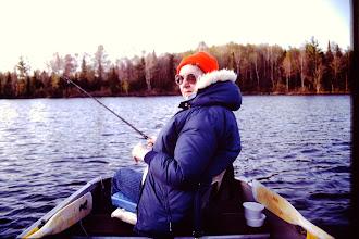Photo: Fall fishing.