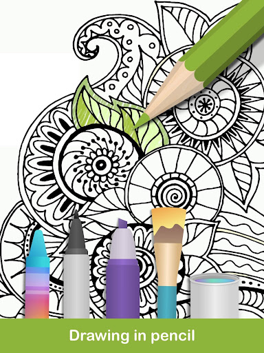 100+ Mandala coloring pages  screenshots 10