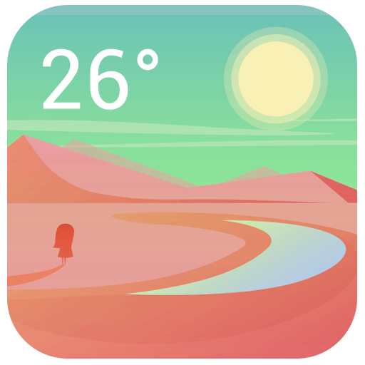 Simple Weather Clock Widget 天氣 App LOGO-APP試玩
