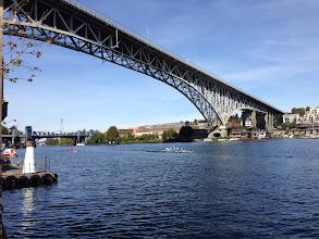 Photo: Aurora and Fremont Bridges on Lake Union