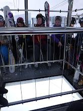 Photo: Glass-bottom gondola :\