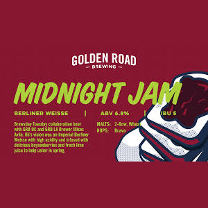 Logo of Golden Road Midnight Jam